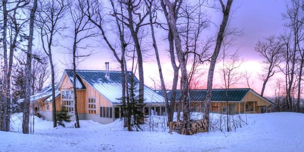 Stratton Brook Hut, Maine Huts & Trails, hut2hut