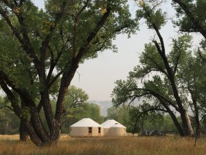 American Prairie Reserve Yurts