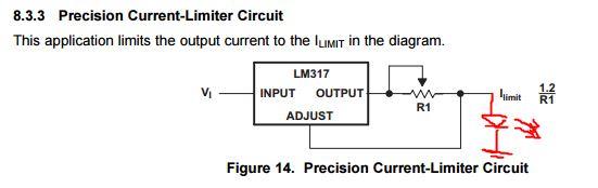 LM317 virranrajoitin