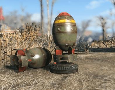 Mini Nuke Fallout 4-pelistä.