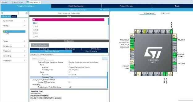 Pinnit voidaan konfiguroida visuaalisesti hiirellä klikkailemalla
