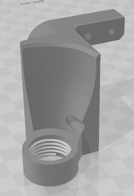 Dremel 8100 Kiinnikkeen 3D-malli