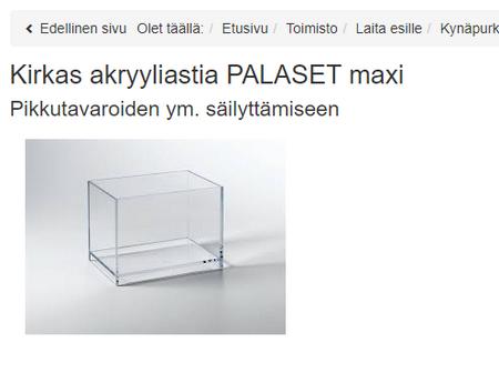 PALASET Maxi