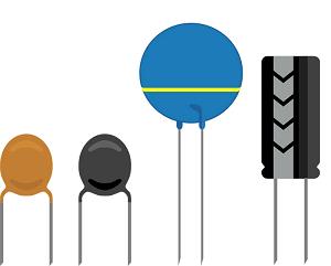 Kondensaattori symboli