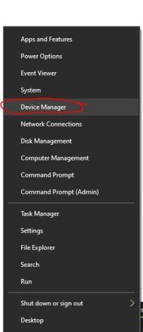 Device Manager laitehallinta