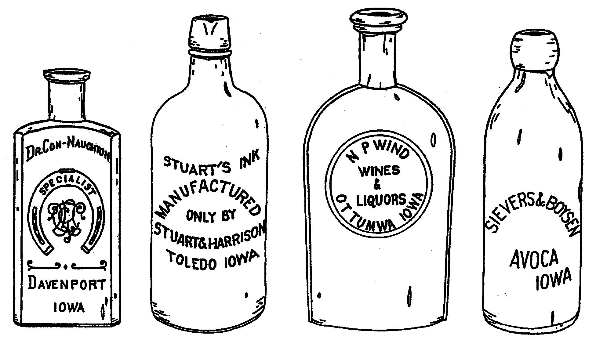 whiskey bottle drawing sketch coloring page