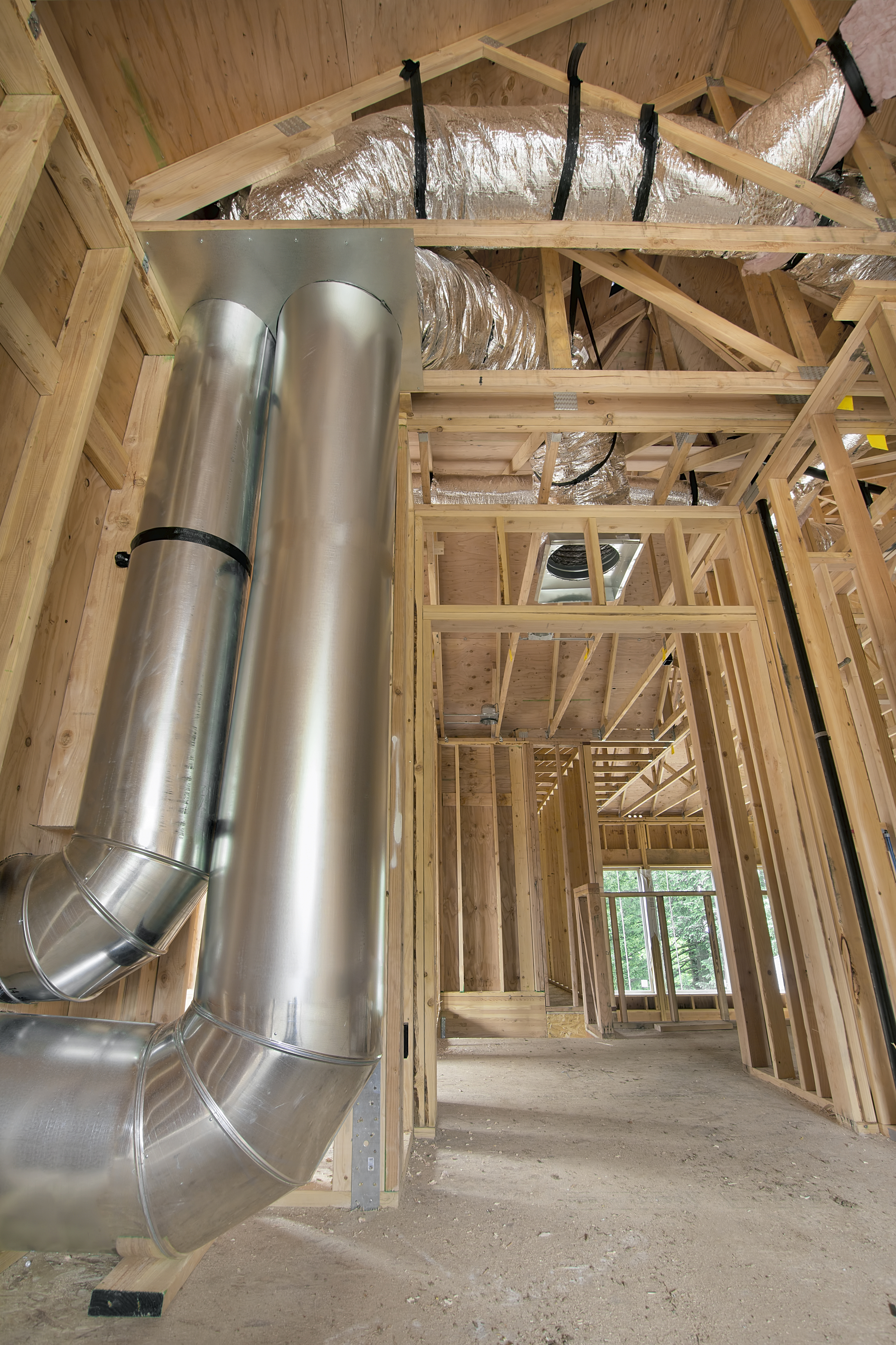 Home Air Conditioning Ductwork