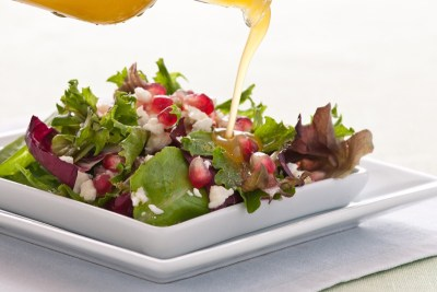 Maple Gastrique Salad Dressing