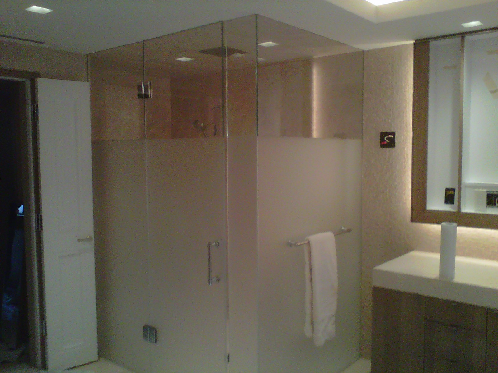 Did Ugly Smoke Residue Stain Your Homes Custom Shower