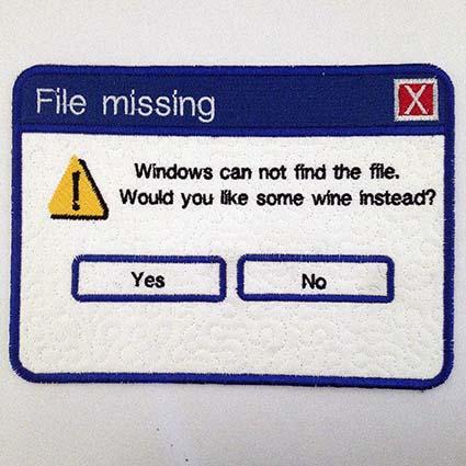 DBB549 Missing File Mug Rug