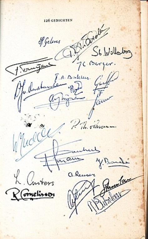 handtekeningen