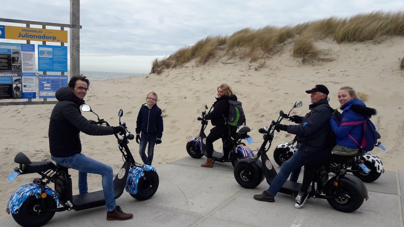 Scooter huren in Den Helder