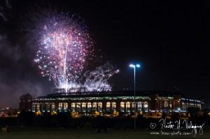 Fireworks at Globe Life Park2 - Arlington, TX
