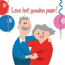 tekst 50 jaar getrouwd huwelijkswensen