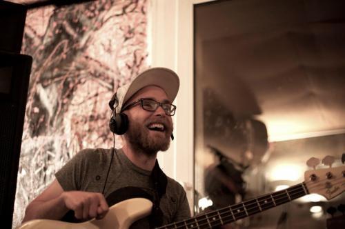KID CREATE recording session, Henwood Studios, 2014