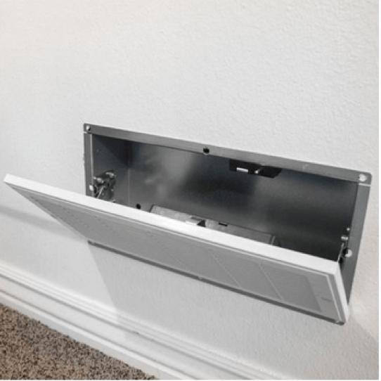 false vent ductwork hiding spot