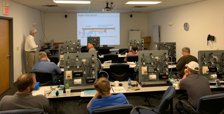 HVAC RepCo Pneumatics Training