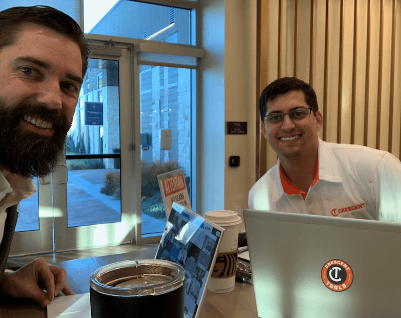 Crescent Tools Kick Off Meeting with HVAC RepCo