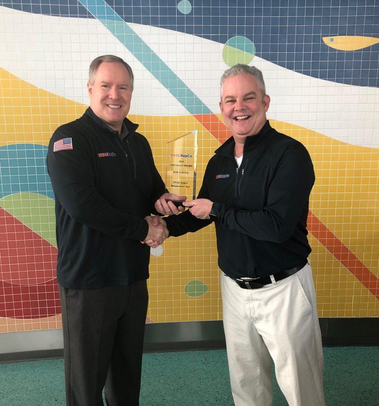 HVAC RepCo 2019 Top Sales Award