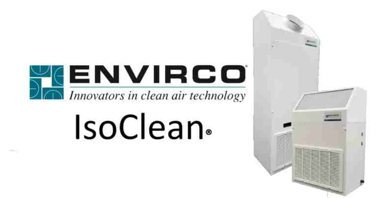 ISOCLEAN HEPA Air Particulate Filter Systems
