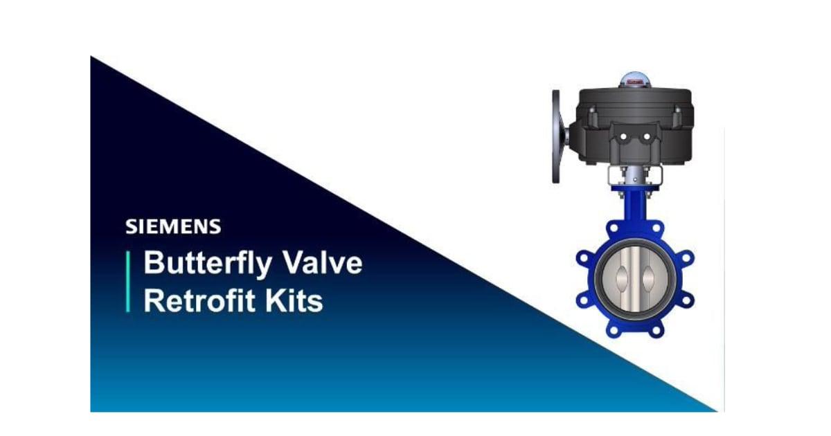 Siemens Butterfly Valve