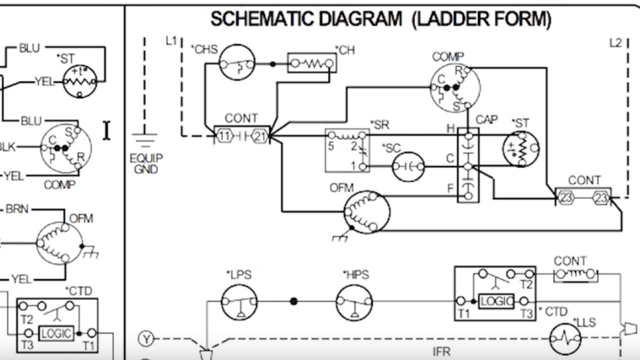How to Read AC Schematics and Diagrams Basics - HVAC Ac Schematics on