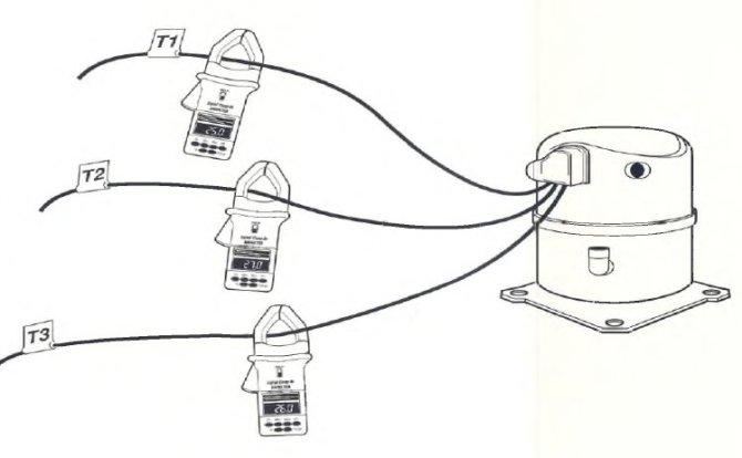 3 phase hvac compressor wiring  schematic wiring diagram