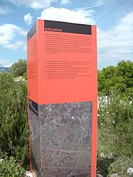 Maslinovik signpost