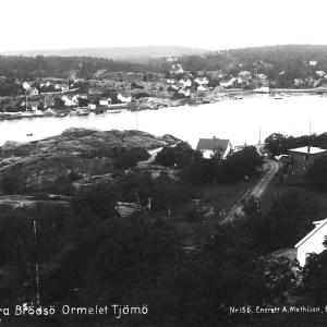 postk Ormelet sett fra Rød sendt 1936 A. Mathisen