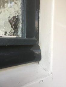 Voorbeeld voor restauratie voordeur