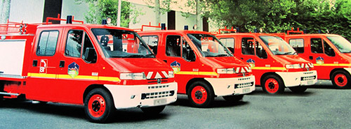HVI - vehicule incendie