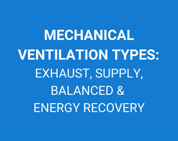 mechanical ventilation types exhaust