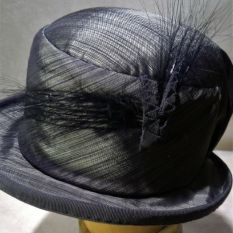 Creating hats in fabric on hard skeletons