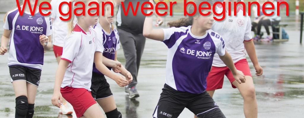 We Gaan Weer Handballen – Speelschema September Bekend