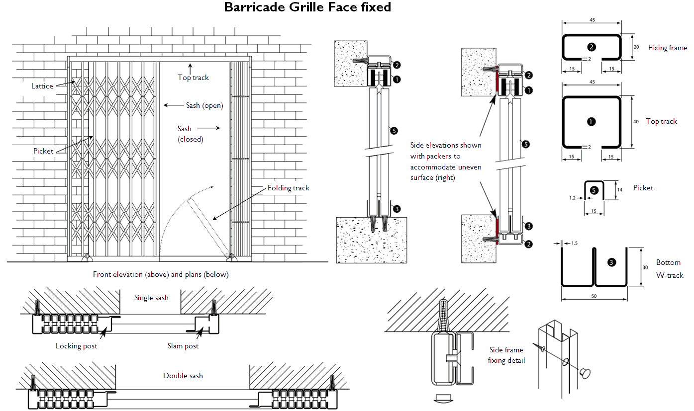 Barricade Collapsible Gate