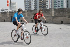 Henry and Michael on the Tour de Xi'an