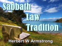 Sabbath Law - Tradition