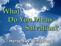 What Do You Mean Salvation?