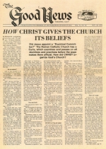How Christ Gives The Church Its Beliefs
