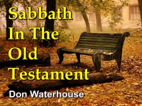 Sabbath In The Old Testament