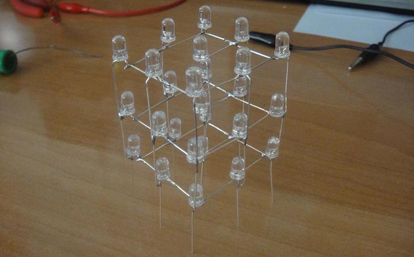 Cubo LED 3x3