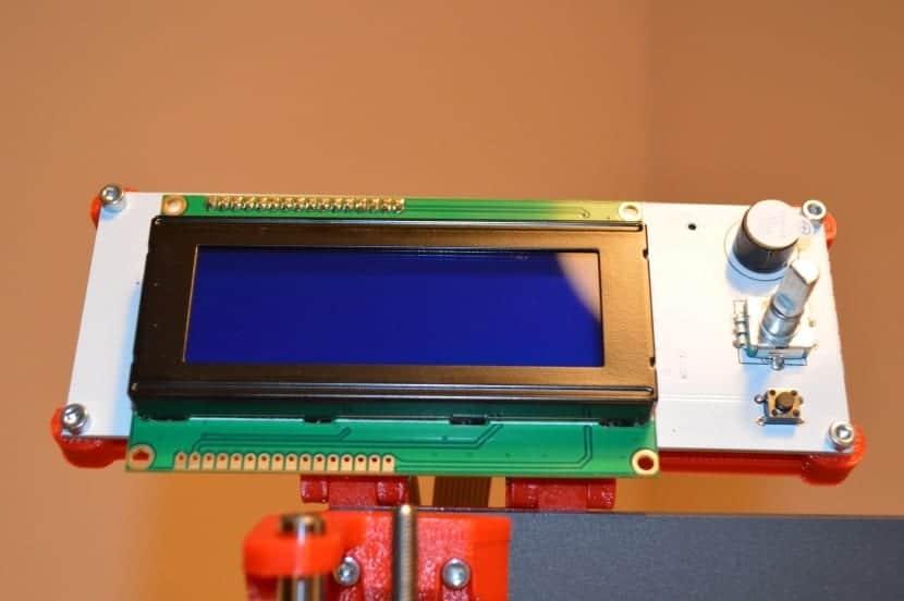Pantalla LCD de una Impresora que usa Arduino Mega