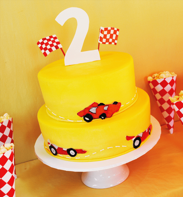 Colorful Creative Race Car Birthday Party Hostess With The Mostess