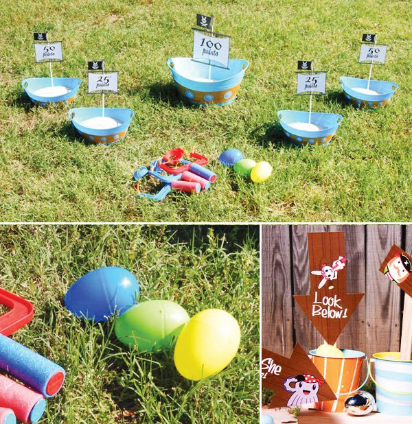 easter pirate bunny party outdoor easter egg hunt