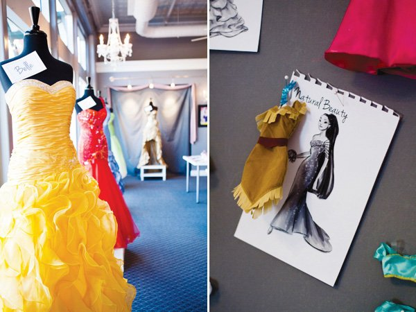 project runway fashion show princess party dresses
