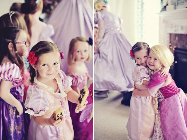 tangled party princess costumes