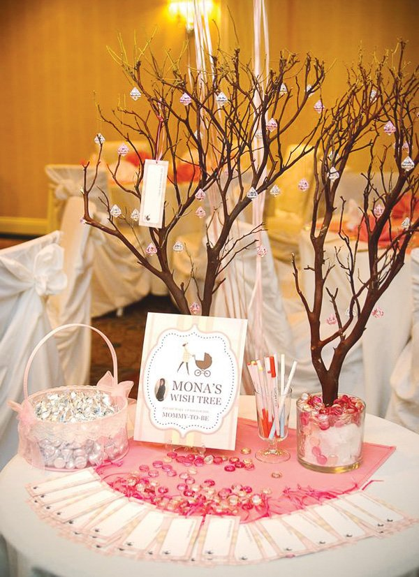 burberry wish tree for a baby shower