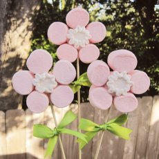marshmallow mother's day tutorial flowers