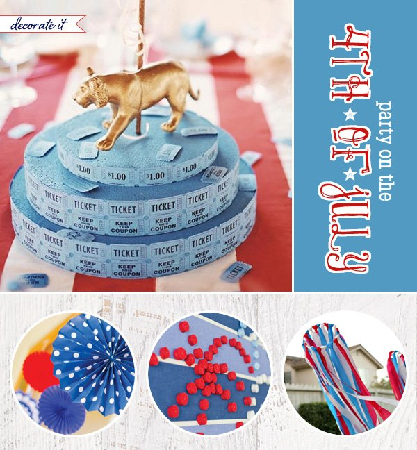 creative 4th of july decoration and table centerpiece ideas