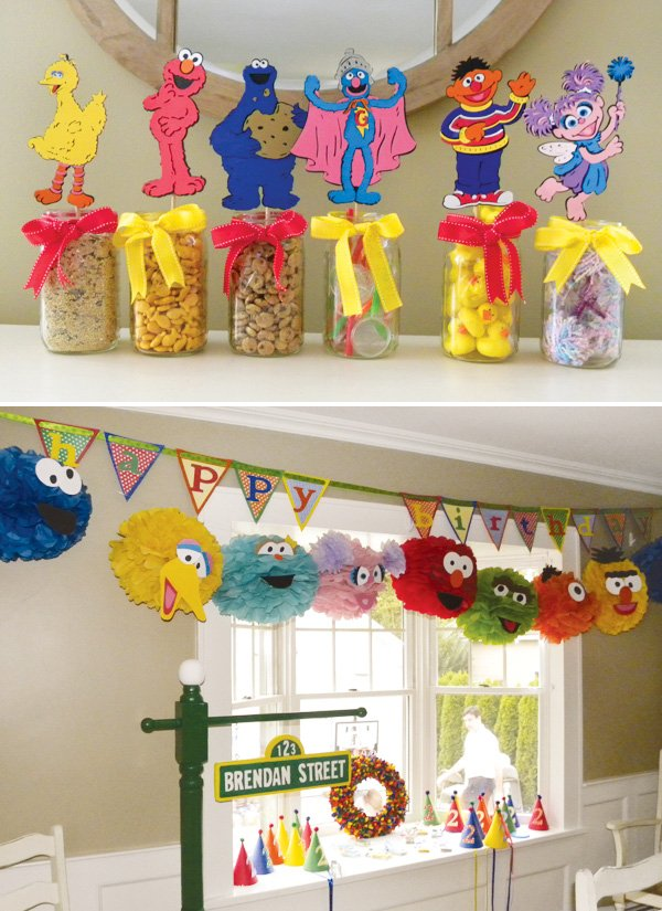 diy sesame street carnival party games